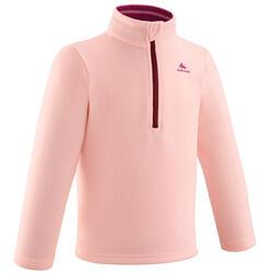 Fleece voor skiën en wandelen voor kinderen 2-6 jaar MH100 roze