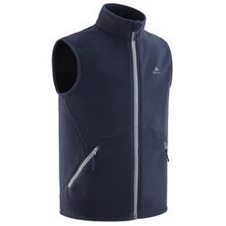 Fleece bodywarmer voor kinderen MH150 blauw grijs 7-15 jaar