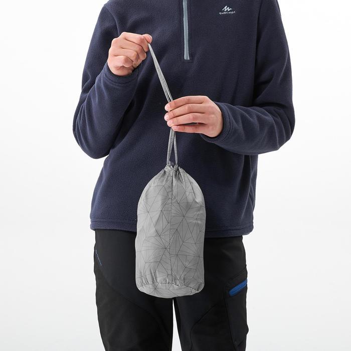 Gewatteerde bodywarmer voor wandelen kinderen MH500 grijs 7-15 jaar