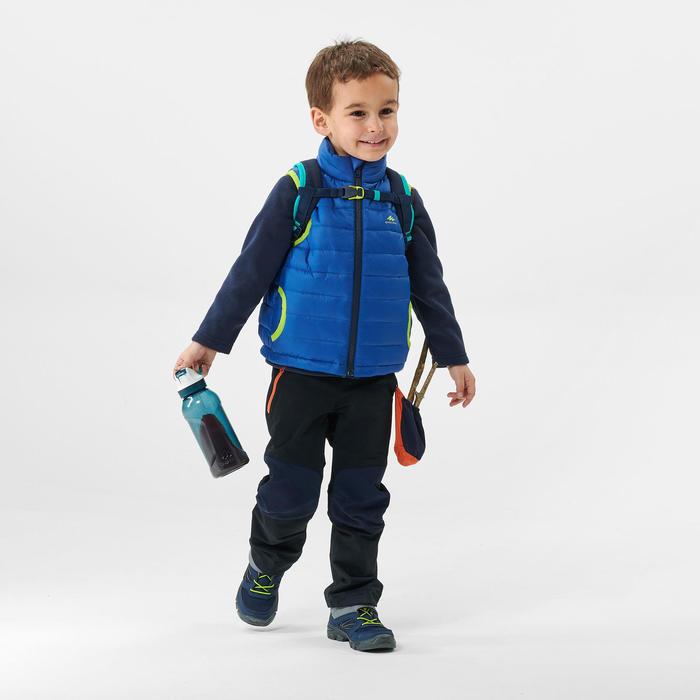 Gilet doudoune de randonnée - MH500 bleu - enfant 2 - 6 ans