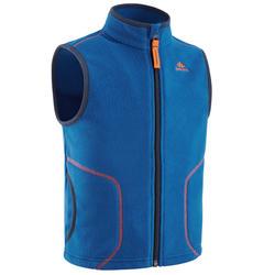 2到6歲兒童款刷毛健行外套MH150-藍色
