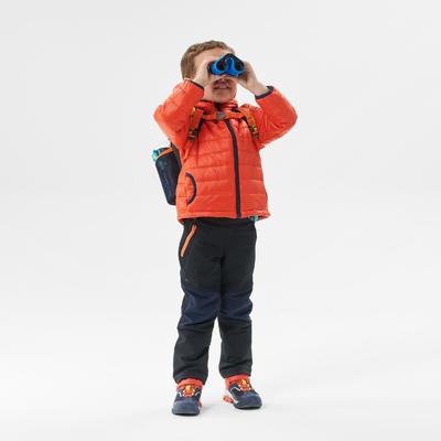 Kids' 2-6 Years Hiking Padded Jacket MH500 - Orange
