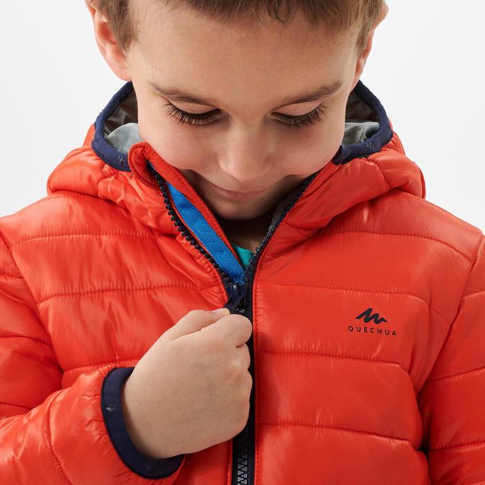 Doudoune de randonnée - MH500 orange - enfant 2 - 6 ans