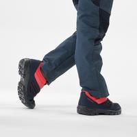 Plavo-ružičaste dečje cipele za planinarenje MH100 (veličine od 2 do 10)