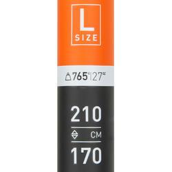 可調/可拆卸立式划槳500(碳纖維槳桿)170到210 CM-L號