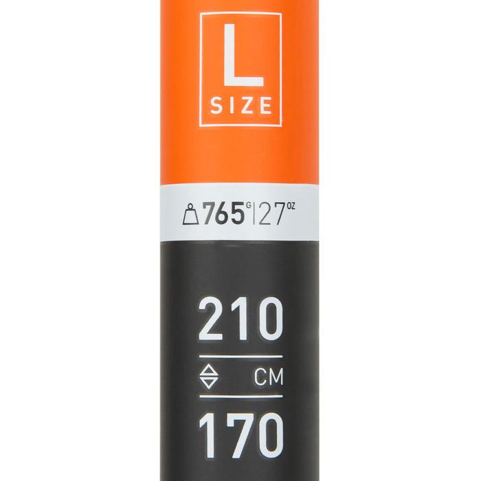 PAGAIE STAND UP PADDLE 500 TUBE FIBRE CARBON DEMONTABLE REGLABLE 170-210 CM - L