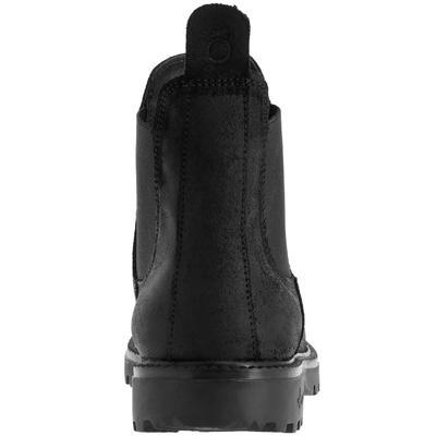 Botines equitación adulto SENTIER 300 negro - tallas 36 a 46