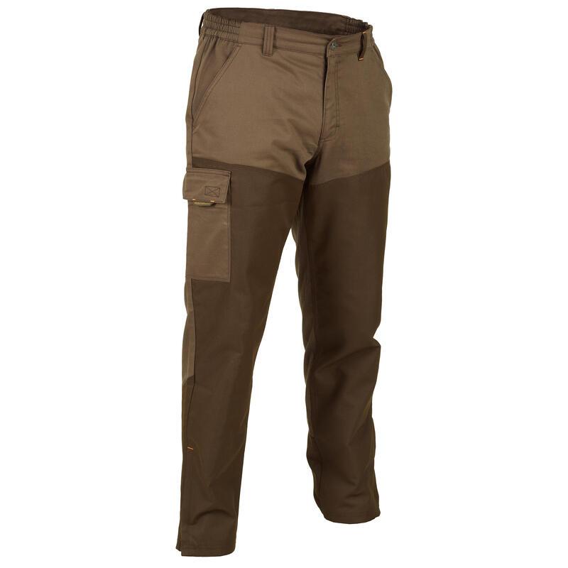 Pantaloni caccia RENFORT 100 marroni