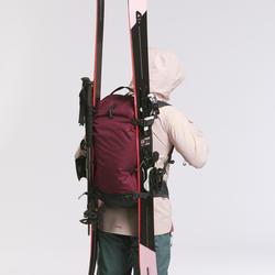 Ski- und Snowboardrucksack Freeride FR100 Defense bordeauxrot