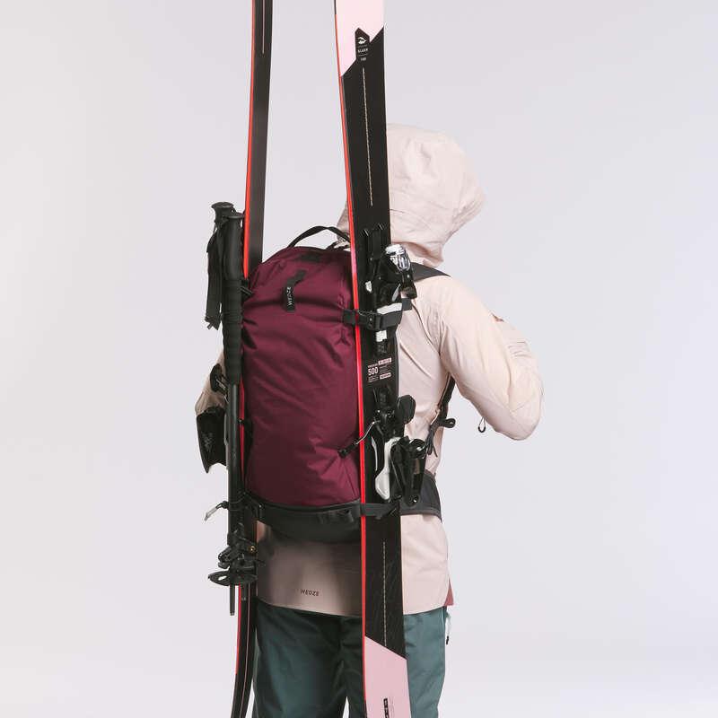 Sí hátizsák Freeride síelés - Hátizsák FR 100 Defense 23 WEDZE - Védőfelszerelés és kiegészítők