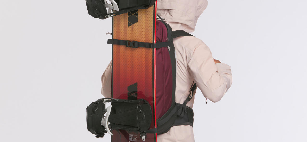 How do you carry a snowboard?