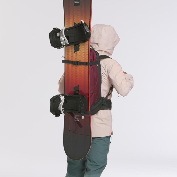 Sac à dos snowboard et ski Freeride BP SKI FR100 Defense Bordo