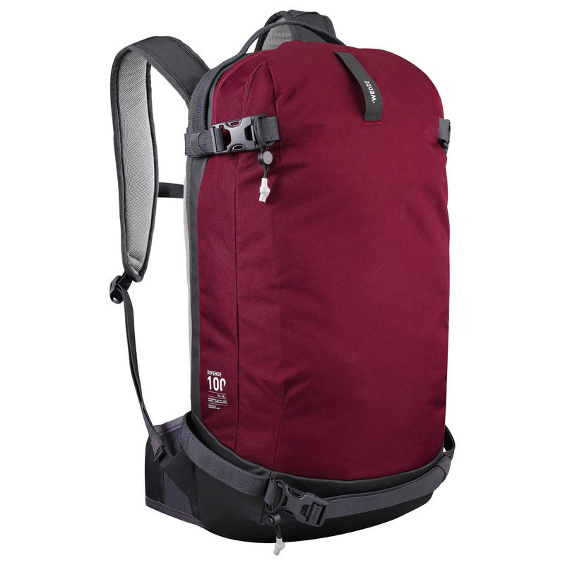 Snowboard and Freeride Ski Backpack BP SKI FR100 Defence (Back protection)