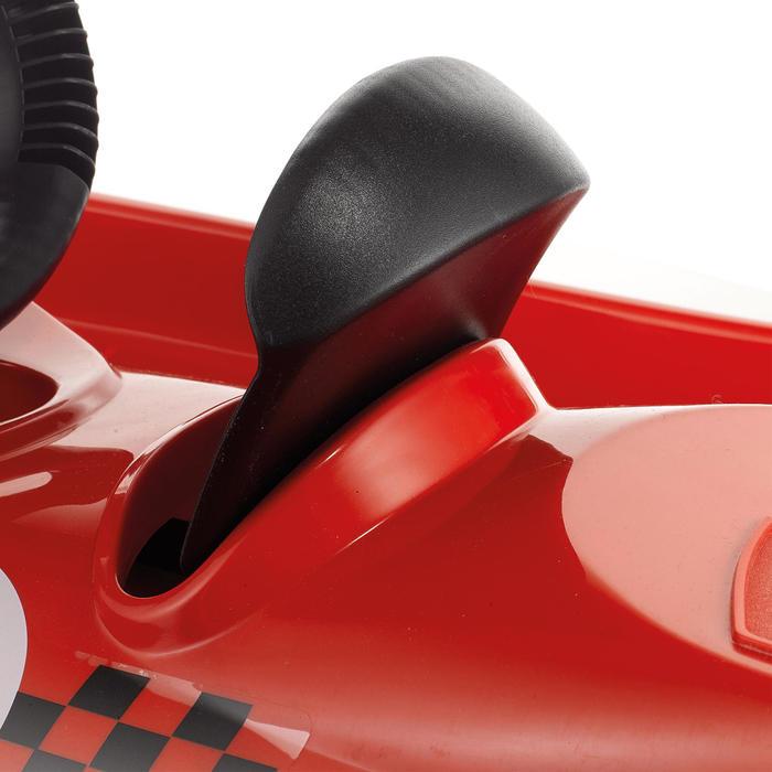 Luge Snow formel rouge enfant avec frein et volant