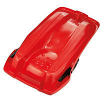 Kids' Tray Sledge with Brakes - Red