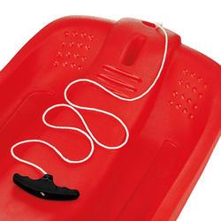 Kuipslee met remmen voor kinderen rood