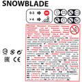 SÁNĚ Lyžování - DĚTSKÉ SÁNĚ SNOWBLADE ČERNÉ HAMAX - Saňkování a bobování