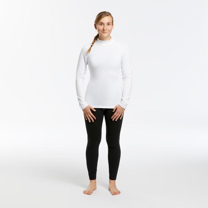 Sous-vêtement de ski femme 500 haut blanc