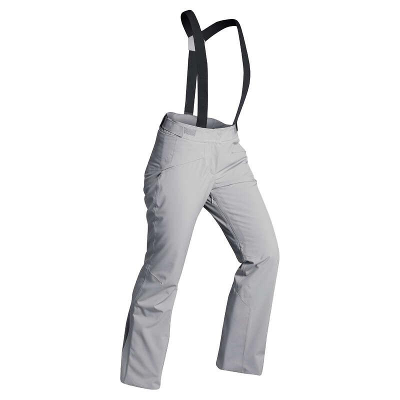 ABBIGLIAMENTO SCI DONNA INTERMEDIO Sci, Sport Invernali - Pantaloni sci donna 580 grigi WEDZE - Abbigliamento sci donna