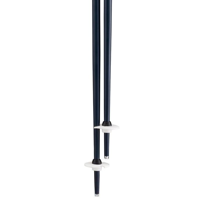 Bâton de ski BOOST 500 GRIP bleu marine