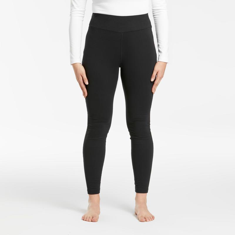 Pantalon Termico De Ski Mujer 500 Negro