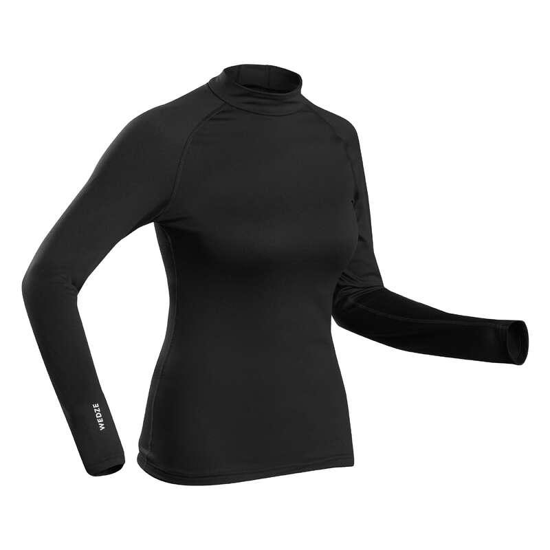 Női síaláöltözet Síelés - Női aláöltözet felső 500-as WEDZE - Síelés
