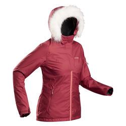 Chaqueta de Esquí y Nieve Mujer Wedze Ski-P 180 Rojo