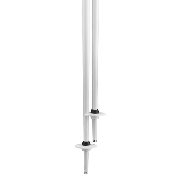 Bâton de ski BOOST 500 GRIP blanc