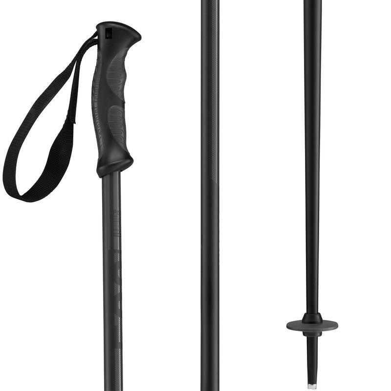 Bastones esquí , WEDZE BOOST 500 GRIP, negro