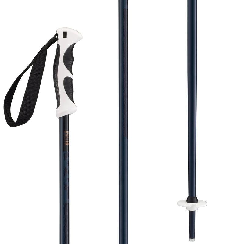 Bastones esquí, wedze BOOST 500 GRIP, azul marino