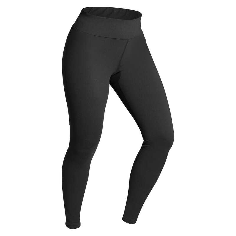 INTIMO E STRATO 2 DONNA Sci, Sport Invernali - Pantaloni termici donna SKI500 WEDZE - Abbigliamento sci donna