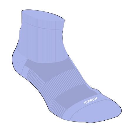 Run500 Running Mid Socks 2-Pack - Lavender