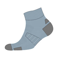 RUN900 MID THICK RUNNING SOCKS - DENIM BLUE