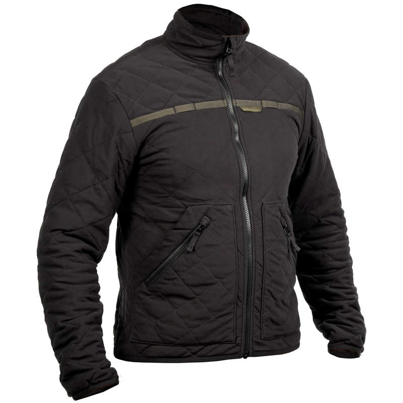 Vadászpolár Vadászat, Sportlövészet - Steppelt kabát, 500-as  SOLOGNAC - Vadászruházat