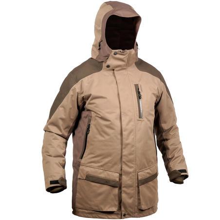 Hunting Warm Waterproof Jacket 520 - Green