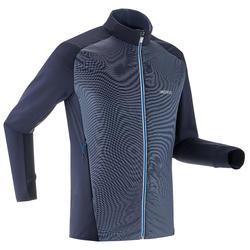 Veste de ski de fond bleu marine - XC S veste 550 - HOMME