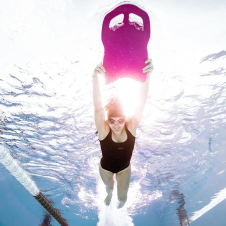 Maillot de bain de natation femme une pièce Heva+ noir