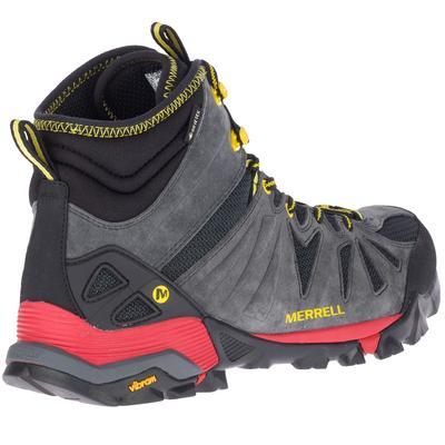 Chaussures imperméables de randonnée montagne - Merrell Capra Mid GTX - Homme