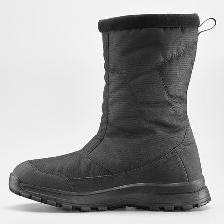 Botas cálidas impermeables nieve - SH100 U-WARM - caña alta hombre.