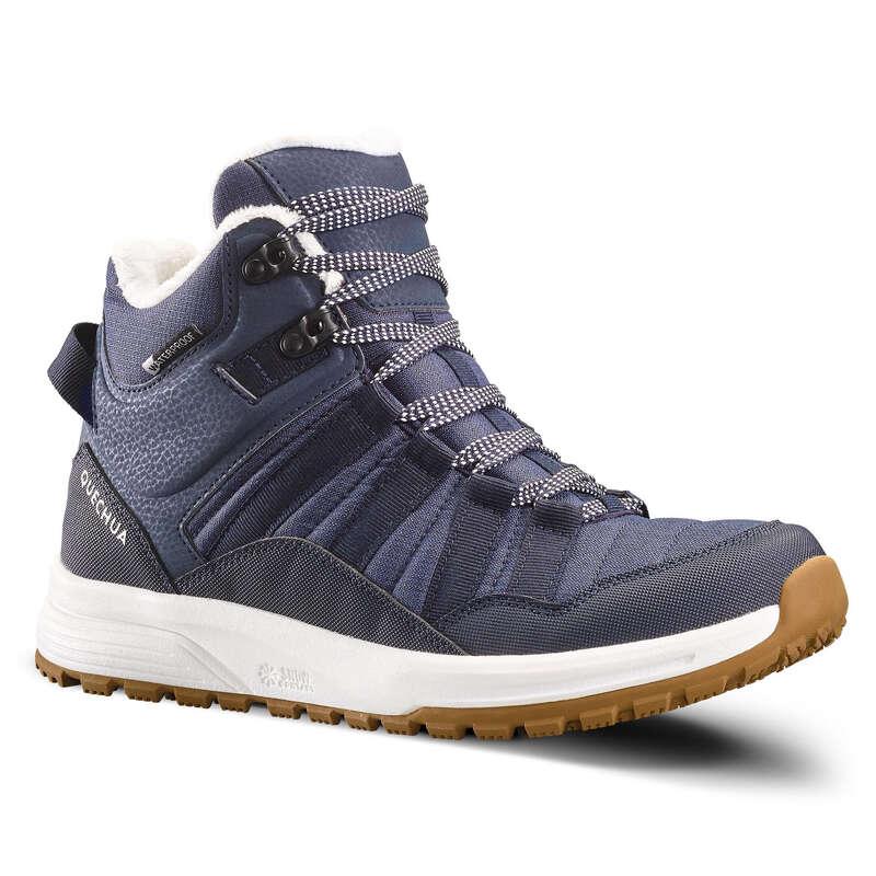 ЖЕНСКИЕ БОТИНКИ / ЗИМНИЕ ПОХОДЫ Удобная обувь для походов - БОТИНКИ SH100 X–WARM ЖЕН. QUECHUA - Бутик
