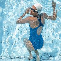 Women's One-Piece Swimsuit Kamyleon - All Geo Blue