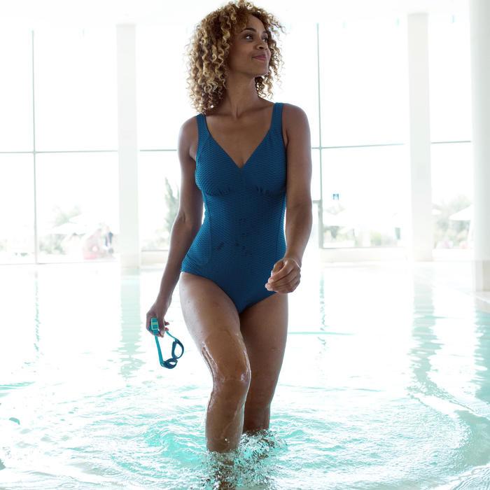Maillot de bain de natation femme gainant 1 pièce Kaipearl New indigo
