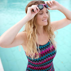 Tankini voor zwemmen dames Heva all cheve marineblauw