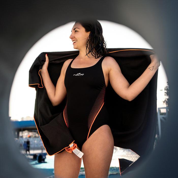 Maillot de bain de natation une pièce femme résistant au chlore Kamiye Lazo