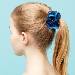 Chouchou bleu paillettes de gymnastique artistique féminine