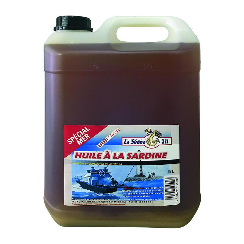 Sardine oil 5L sea fishing bait