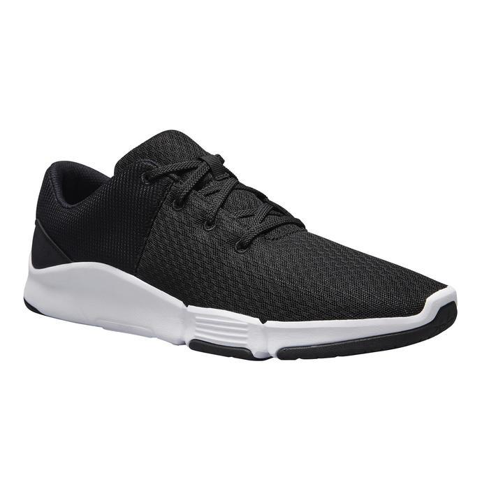 男款健身鞋100 2.0 - 黑色/白色