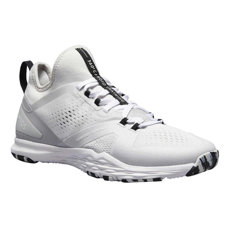 Женские кроссовки низкая интенсивность Гибкая обувь для фитнеса - Кроссовки для фитнеса 920 DOMYOS - Гибкая обувь для фитнеса