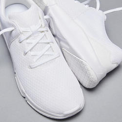 CHAUSSURES DE FITNESS HOMME 100 2.0 BLANC