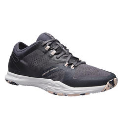 Chaussures de fitness 900 femme gris et rose